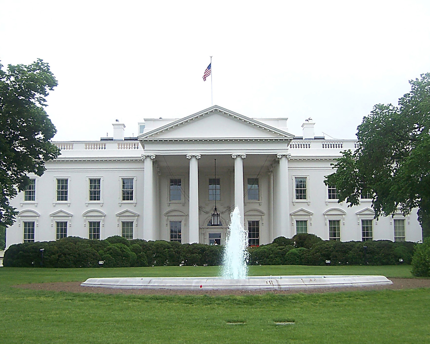 Images who built the white house for The white housse